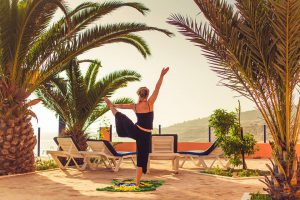 yoga and surf package